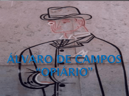 A Poesia de Álvaro de Campos