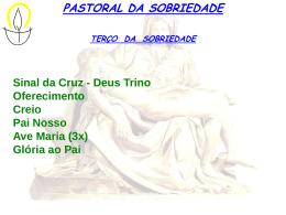 9 - Terço da Sobriedade - Paróquia Bom Jesus dos Migrantes