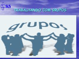 Grupos Operativos e interdisciplinaridade