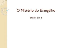 O Mistério do Evangelho