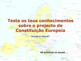 Constituição Europeia - SINTTAV