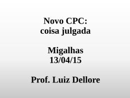 Novo CPC - Luiz Dellore