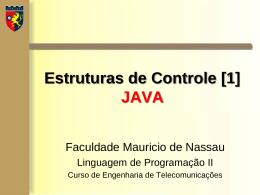 Laboratório (Estrutura de Controle [1]).