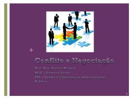 Comportamento Organizacional - Conflito e negociação_8