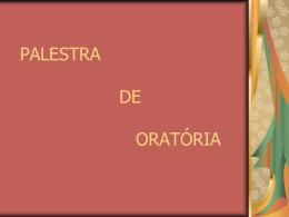 ORATÓRIA