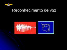 Reconhecimento de voz