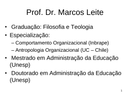 Prof. Drd. Marcos Leite