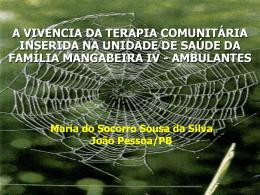 João Pessoa - Terapia Comunitária
