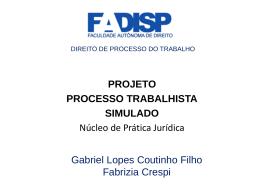 a boa petição fala - Gabriel Lopes Coutinho Filho