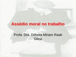 A pesquisa sobre assédio moral no trabalho