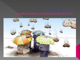 Educação Sexual: contributos para a implementação do P.C.T.