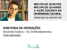 operações - Universidade Estácio de Sá