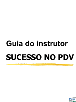 Guia do instrutor