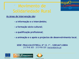 Movimento de Solidariedade Rural