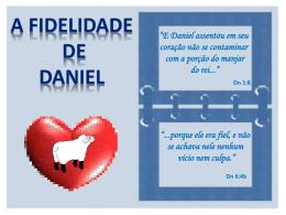 A_Fidelidade_de_Daniel