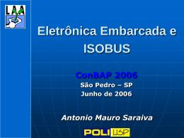 Eletrônica Embarcada e ISOBUS