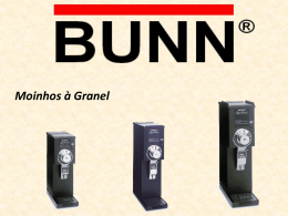 Manual de Treinamento G3 - BUNN Online Learning Center