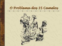 A Aventura dos 35 Camelos