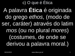 Ética II