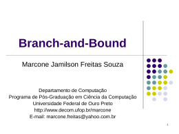 Branch-and-Bound - Decom