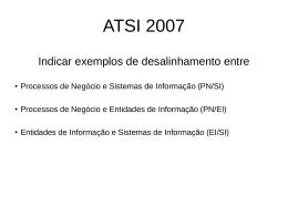 Deselinhamentos EI/SI/PN