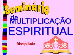 DISCIPULADO Pr. Gilberto