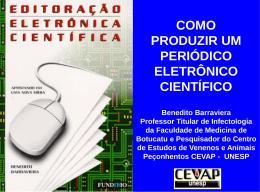 Editoração eletrônica científica