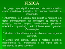 FÍSICA