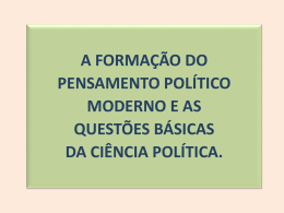 Aula 8_Formacao pensamento politico moderno