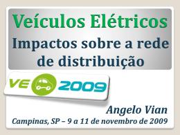 Veículos Elétricos - ve 2009