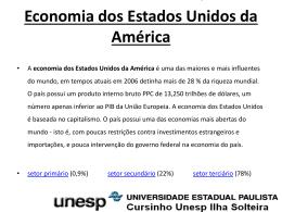 Economia dos Estados Unidos da América