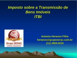 Direito Tributário ITBI (Antonio Herance Filho)