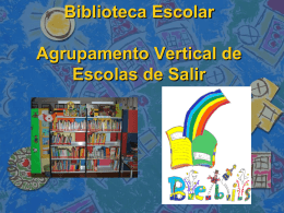 Biblioteca Escolar EB1 Mãe Soberana