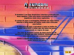 O ANDEBOL