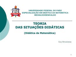 TSD_AULA3 - Especialização em Didática da Matemática
