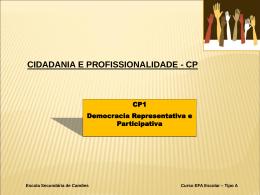 Democracia Representativa e Participada