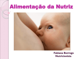 Alimentação da Nutriz