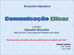 Encontro Interativo A&R - Blog do Gamaliel Noronha