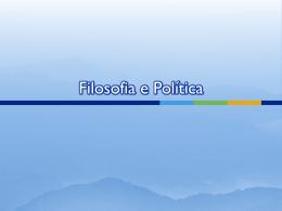 Filosofia e Política - Colégio Energia Barreiros