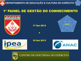 AGC - Departamento de Educação e Cultura do Exército