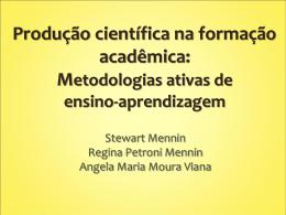 Produção científica na formação acadêmica