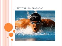 História da Natação - Centro Educacional ArteCeb