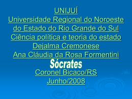 Unijuí Ciência política e teoria do estado
