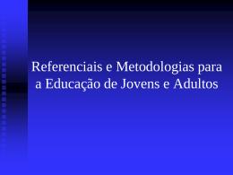 1º Encontro de Educação de Jovens e Adultos de Nova