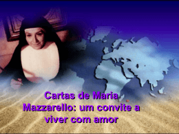 Cartas de Mª Mazzarello