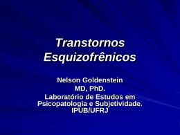 Esquizofrenia, Transtornos Esquizotípicos e