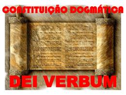 Sagrada Escritura na vida da Igreja