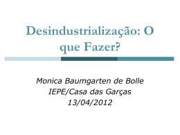 Apresentação Monica B. de Bolle