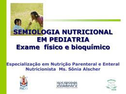 Exame Físico e Laboratorial em Pediatria