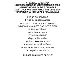 Músicas da CF - prestservi.com.br